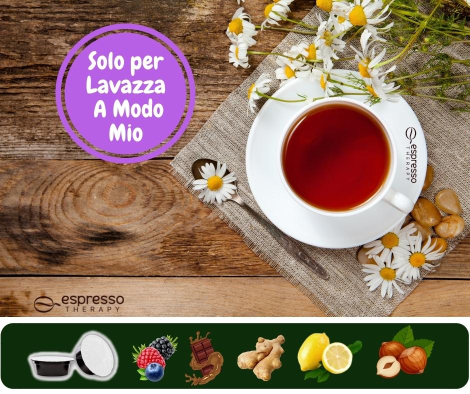 Tè tisane e solubili compatibili A modo mio Lavazza