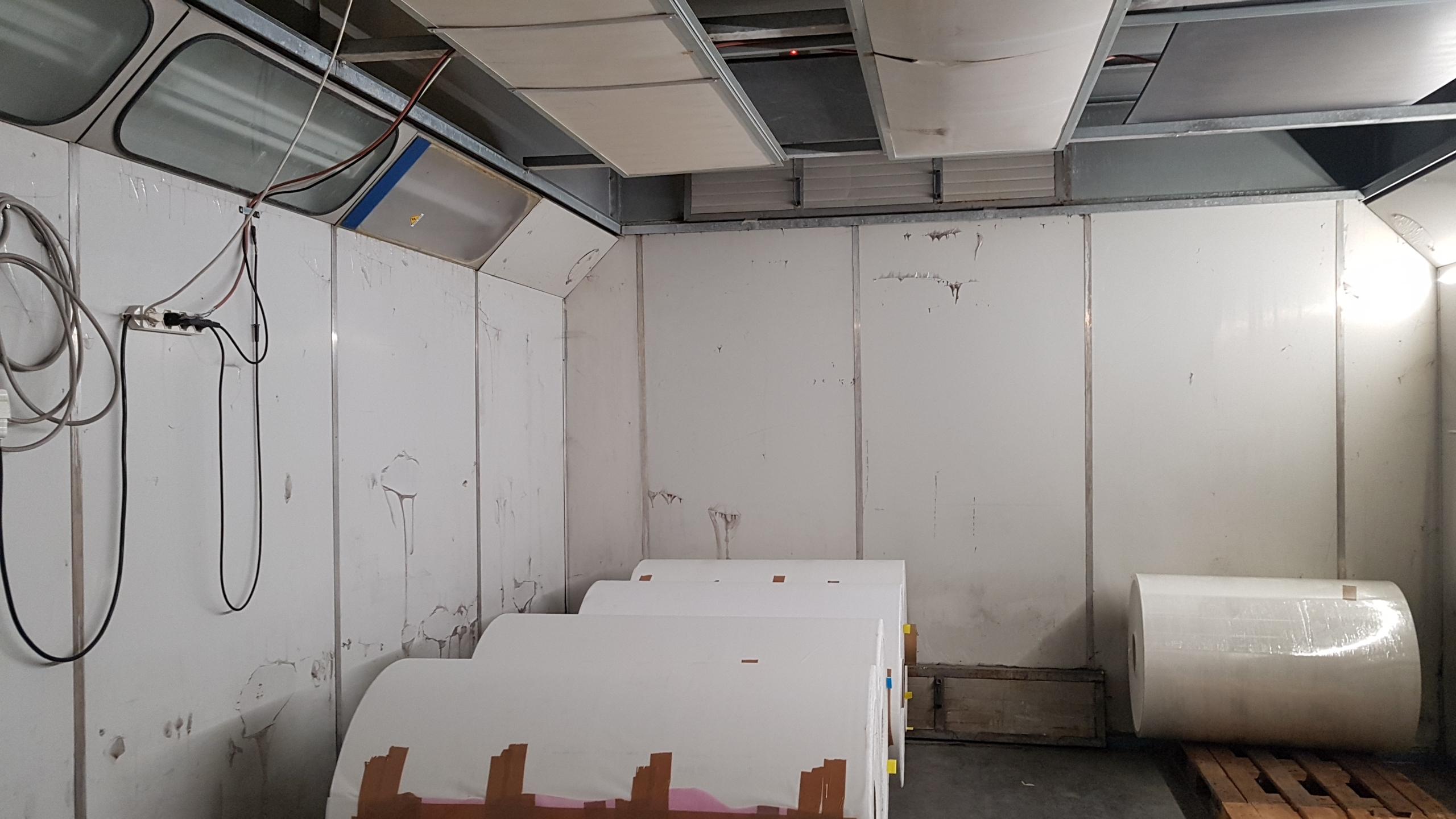 Camere calde  umidostatiche in pannelli policarbonato  , soluzioni personalizzate .
