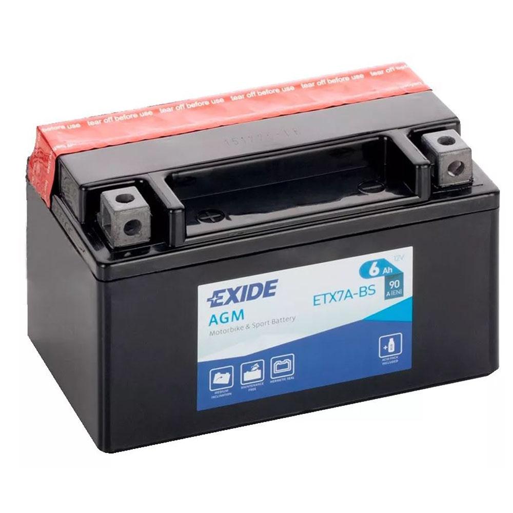 Batteria MOTO EXIDE 8Ah Sx - ETX9-BS