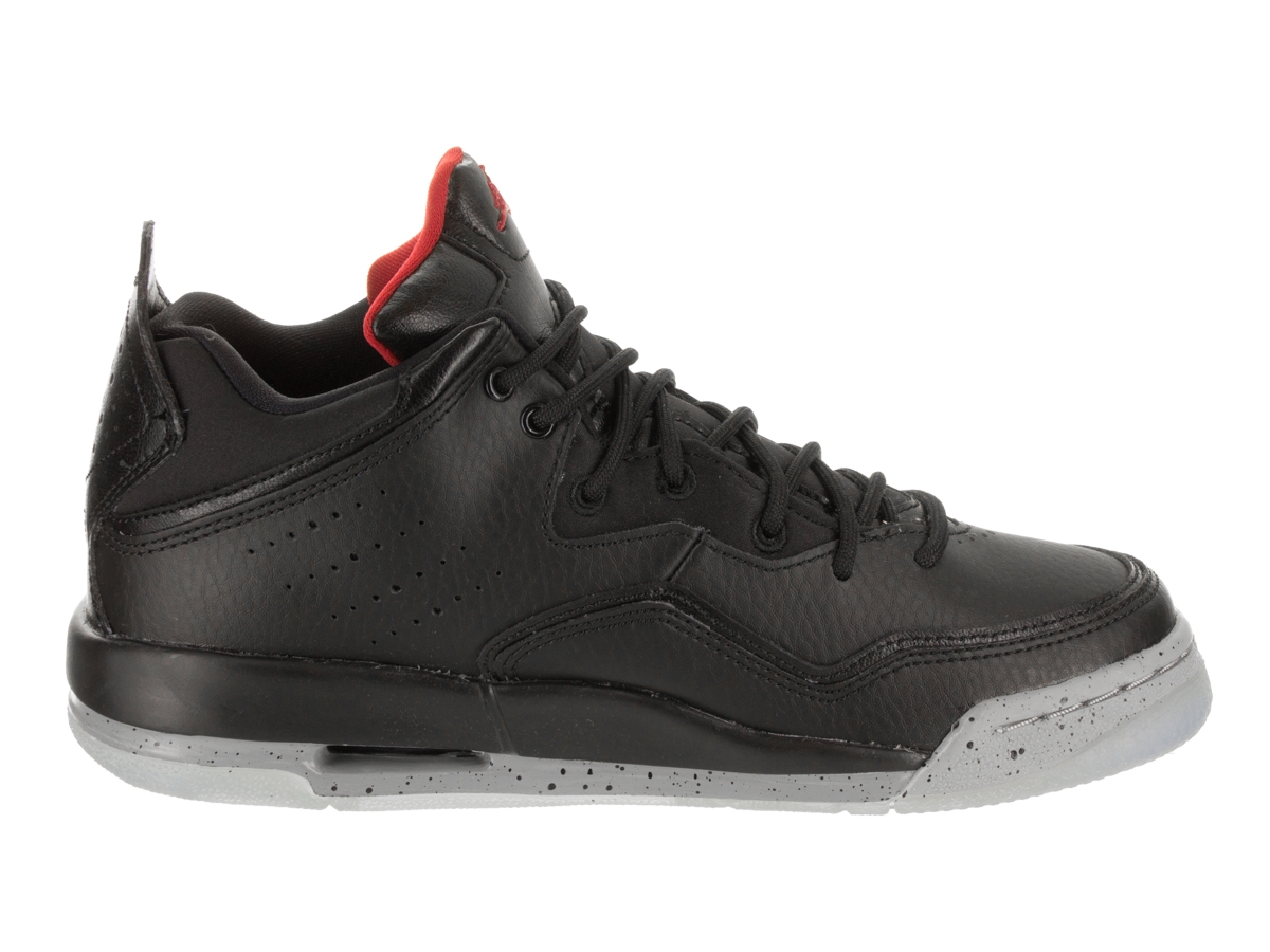 SNEAKERS JORDAN COURTSIDE 23 (GS) BLACK/ GYM RED-PARTICLE GREY AR1002 023