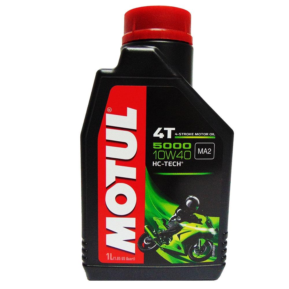 OLIO MOTORE MOTUL 5000 10W40 HC-TECH 4T 1L