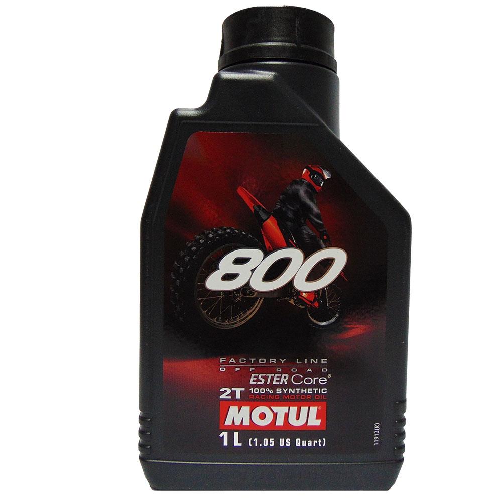 OLIO MOTORE MOTUL 800 FACTORY LINE OFF ROAD 2T 1L