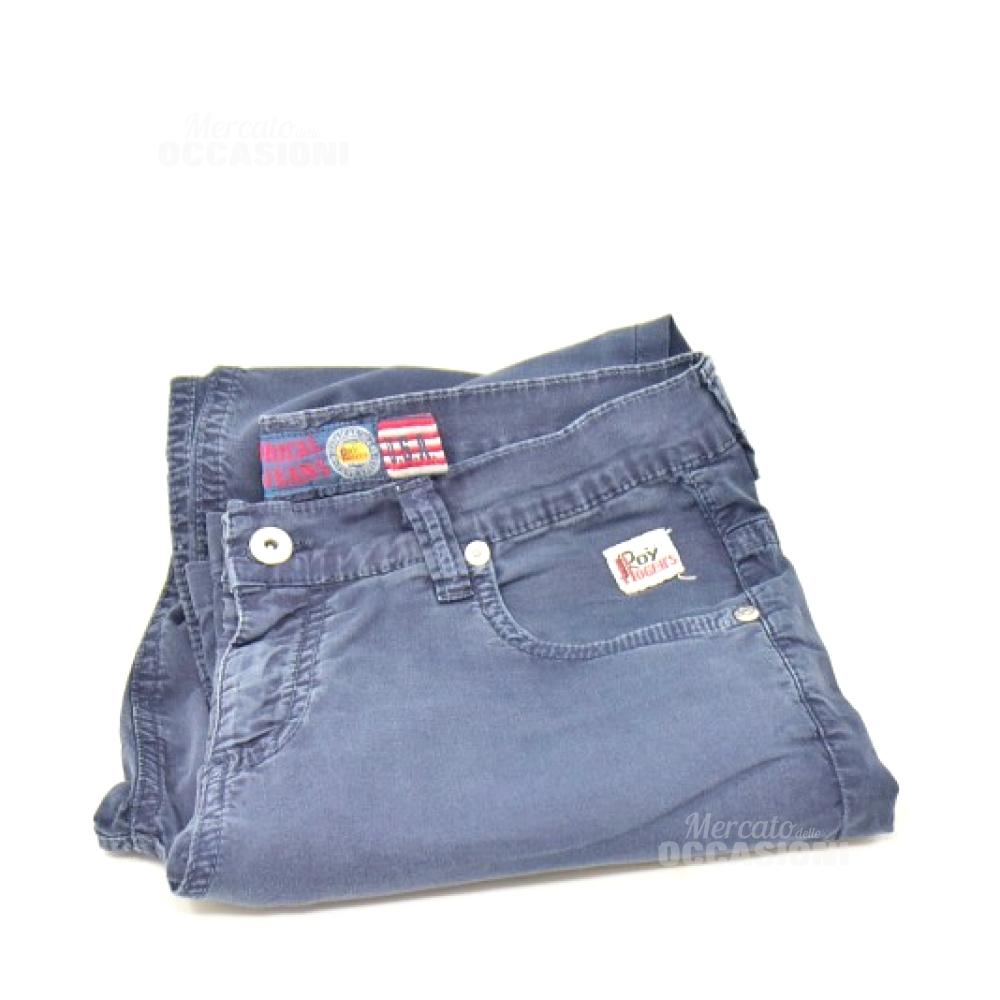 Pantalone Donna Blu Roy Rger Tg. 40-42