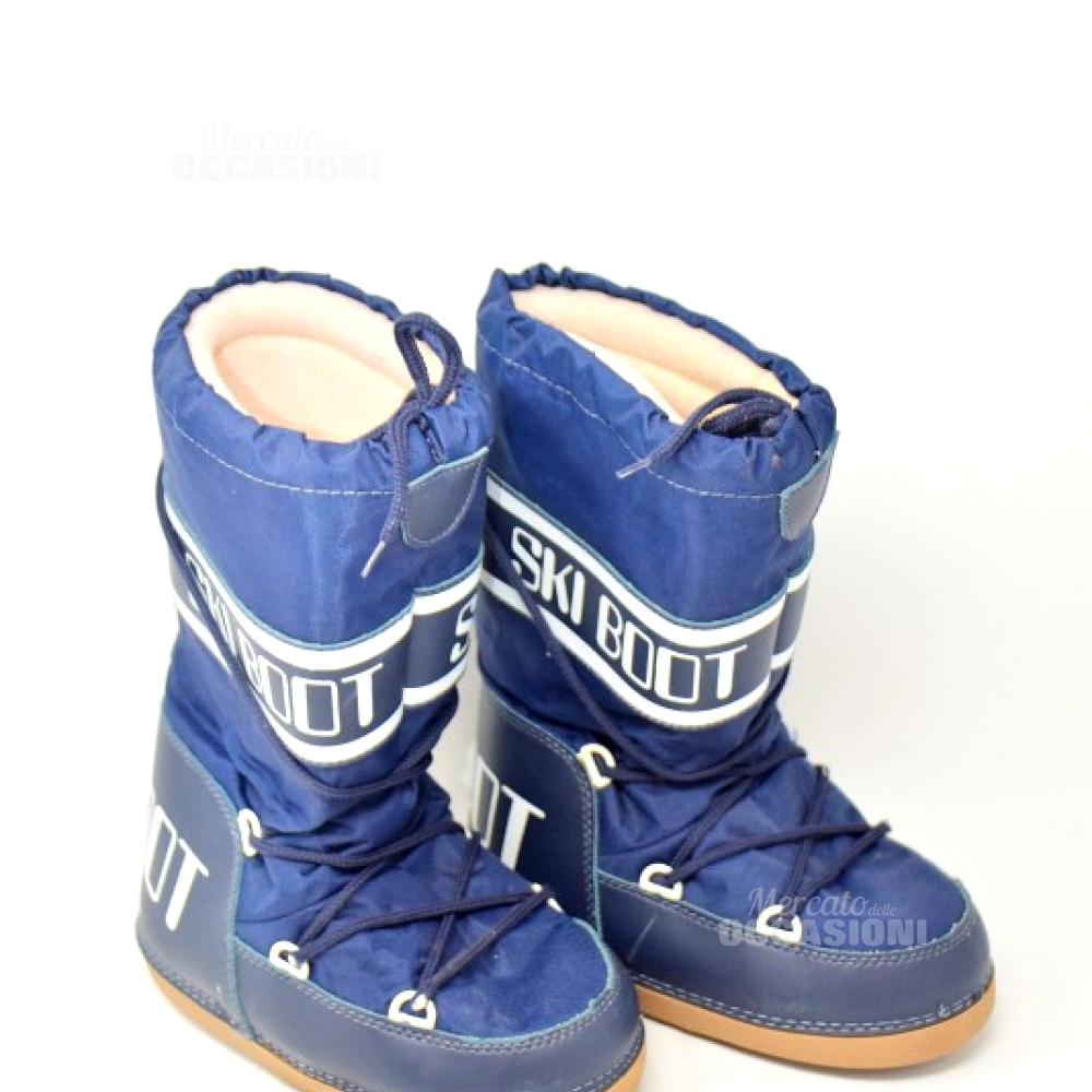 Ski Boot Blu  N. 35-37