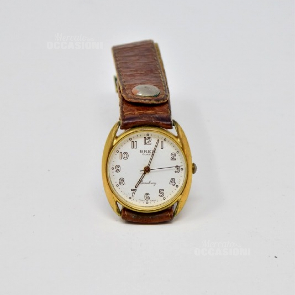 Orologio Vintage Breil Marrone Cinturino