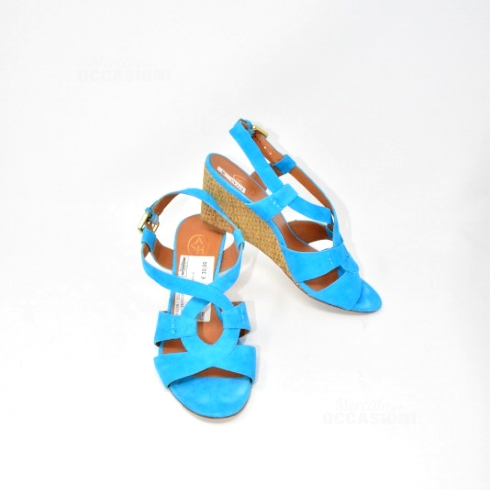 Sandali Azzurri Sash N 39