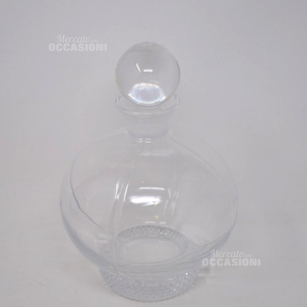 Bottiglia Cristallo Di Boemia