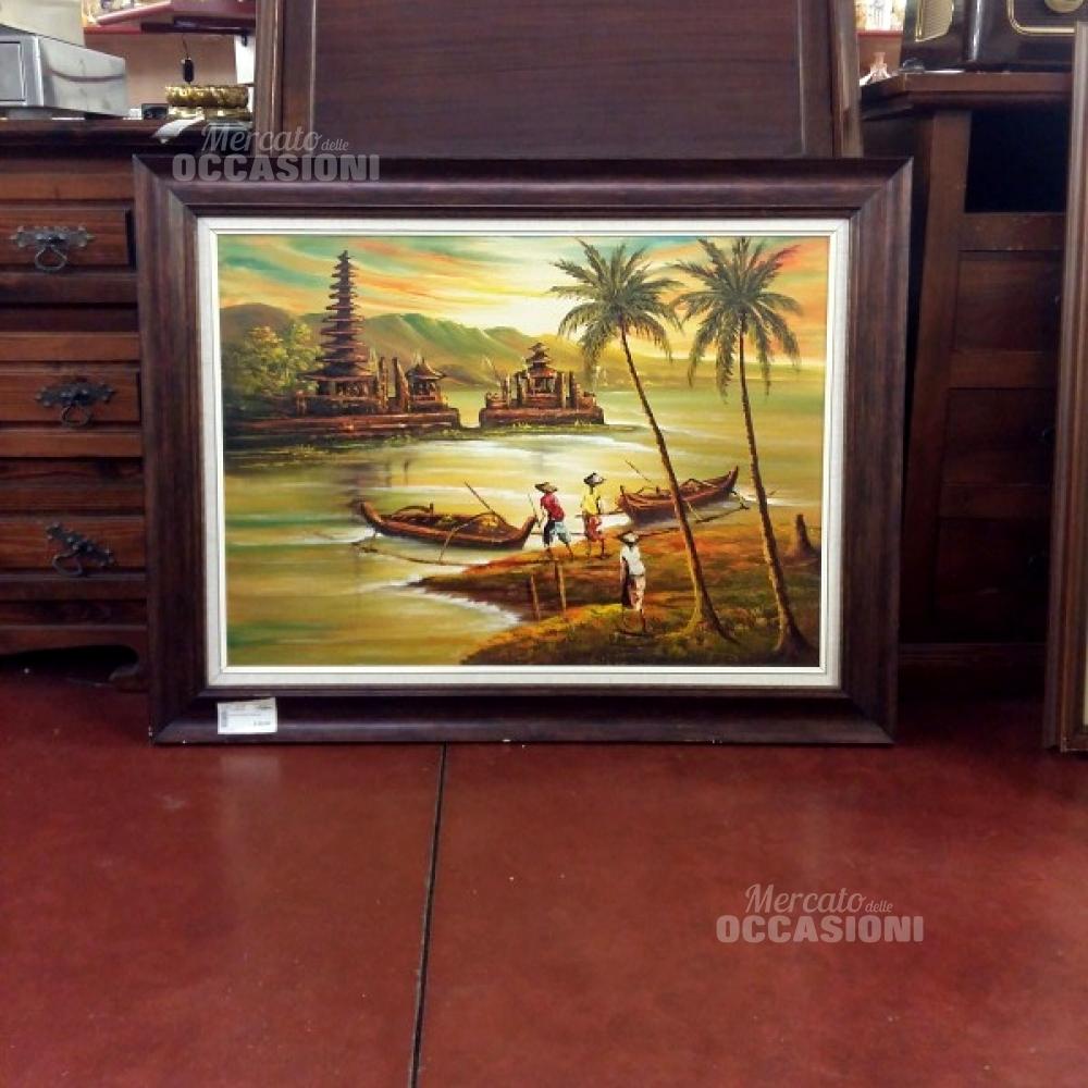 Quadro Grande Paese Bali