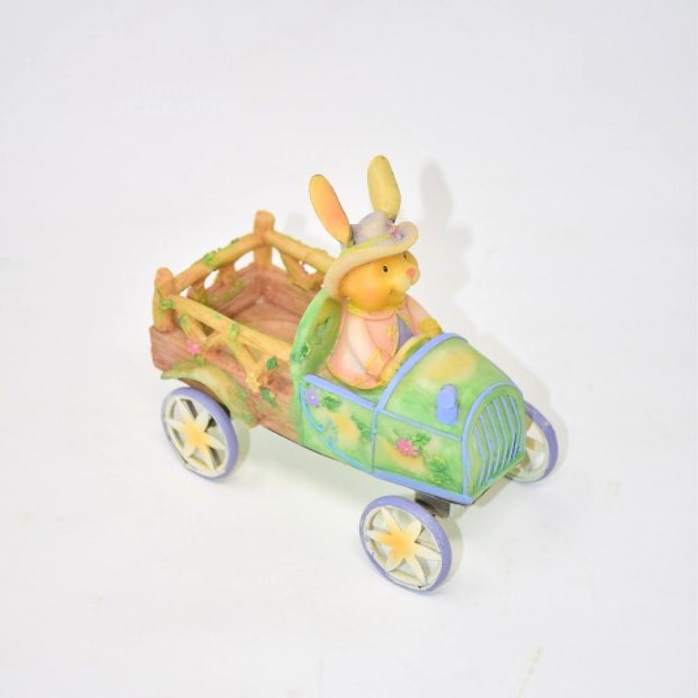 Carro Coniglietto Ceramica