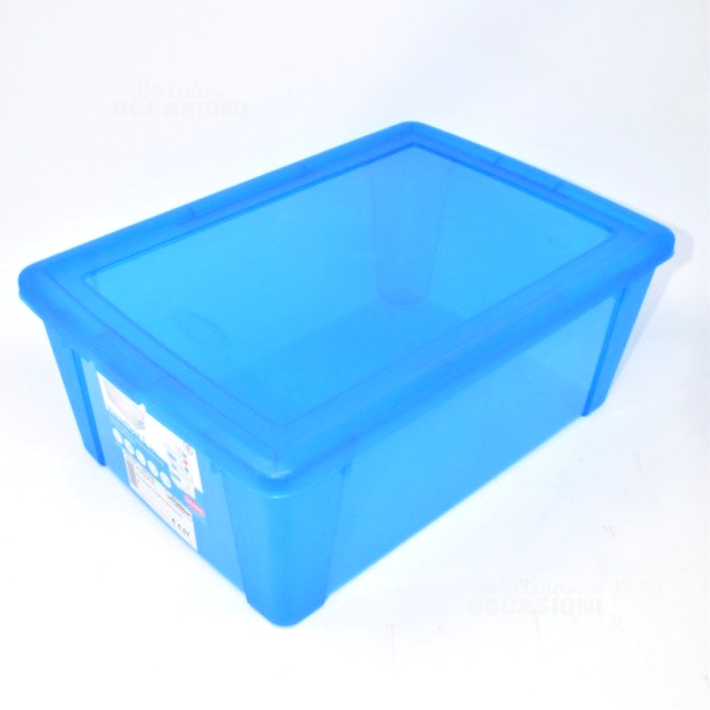 Scatola Blu Porta Ogg Nuovo