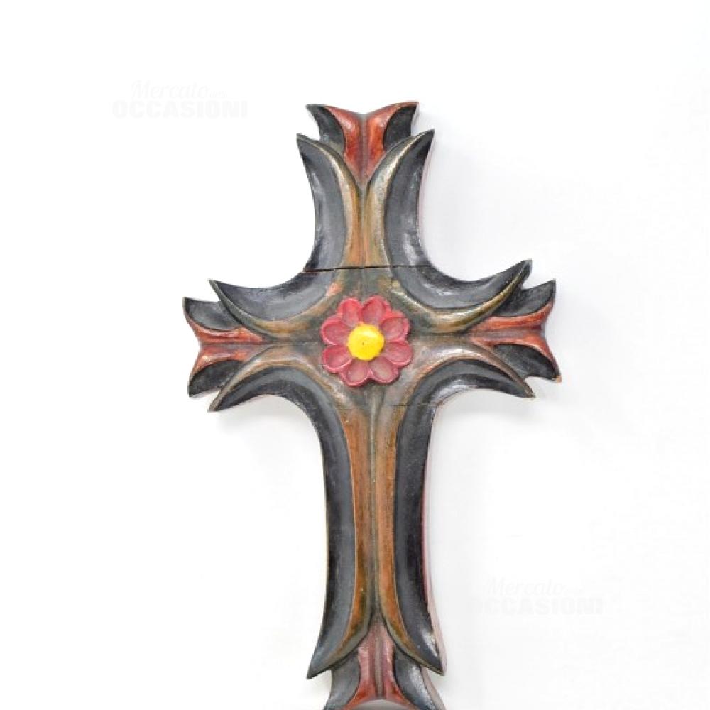 Croce Legno Nepalese