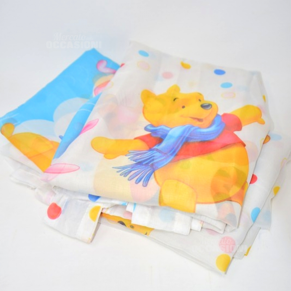Coppia Tende Disney Winnie The Pooh