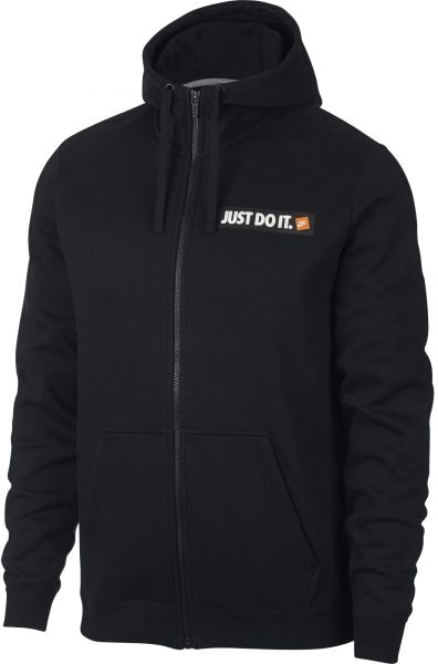 NIKE JUST DO IT FULL ZIP-UOMO HOODIES NERO 928703-010