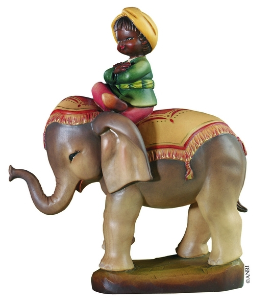 Cavalcando l'elefante Anri Ferrandiz cm. 7,5