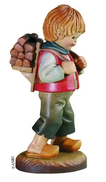 Pastore con legna Anri Ferrandiz cm. 7,5