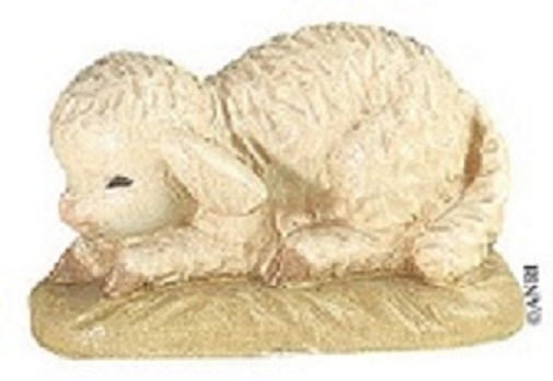 Pecora rannicchiata Anri Ferrandiz cm. 7,5