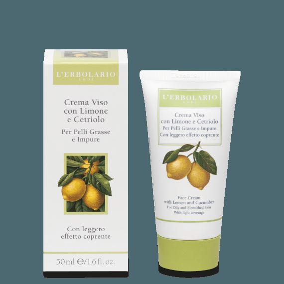 Crema Viso al Limone e al Cetriolo 50 ml L' Erbolario