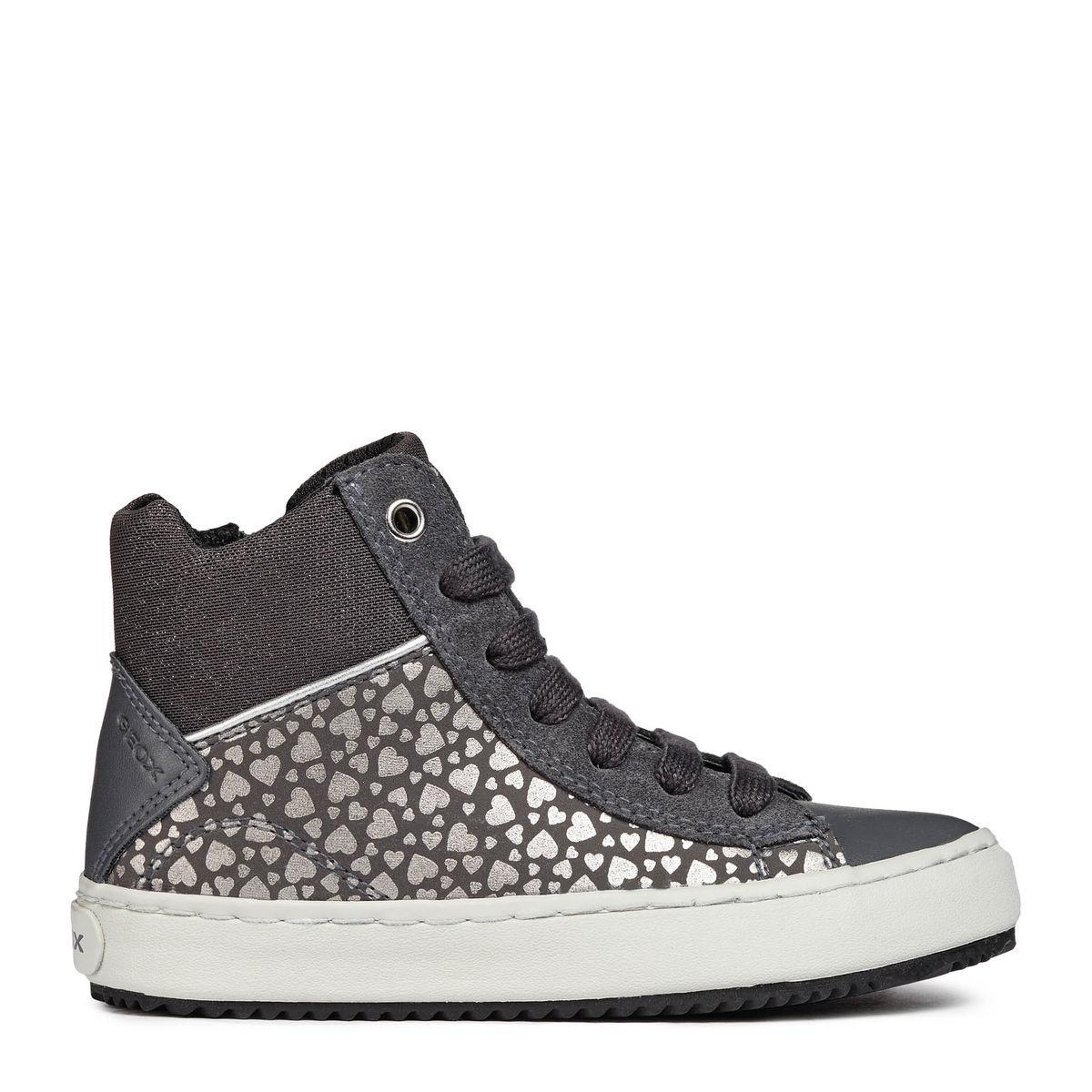 Jr Sottopiede Sneaker Alta Estraibile J844gd Suede Girl Kalispera Geox mNO0w8ynv
