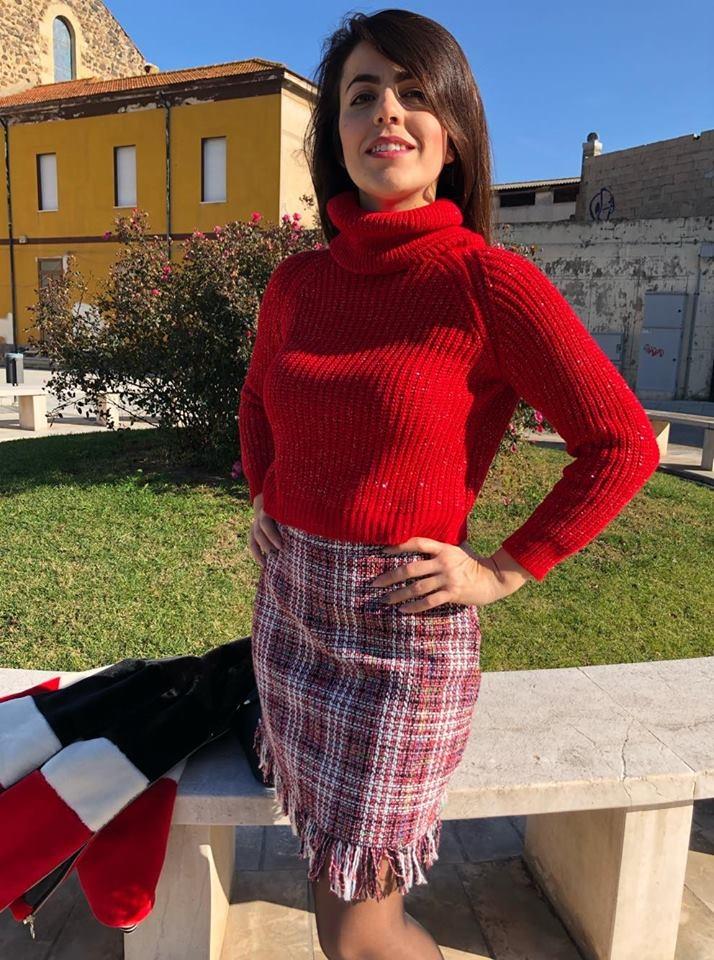Minigonna Tweed