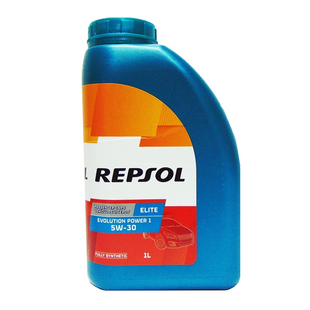 OLIO MOTORE REPSOL EVOLUTION POWER 1 5W-30 ELITE FULLY SYNTHETIC 1L