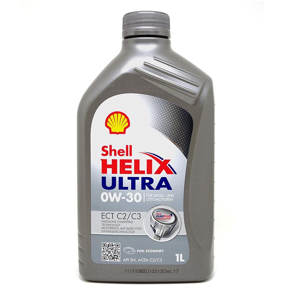 OLIO MOTORE SHELL HELIX ULTRA ECT C2/C3 0W-30 1L