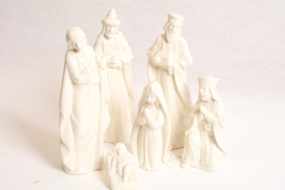 Presepe in Ceramica h 19,5 cm CB20156