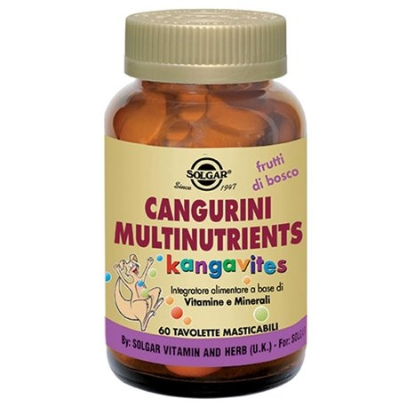 Cangurini Multinutrients Frutti di bosco