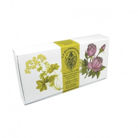 Rosa e Camomilla Saponi La Florentina Herbarium