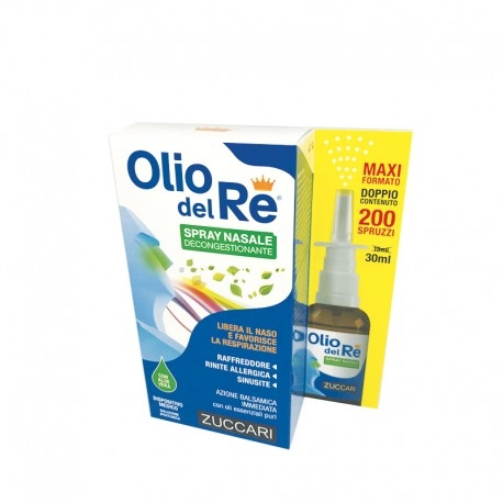 Olio del Re Spray Nasale Decongestionante