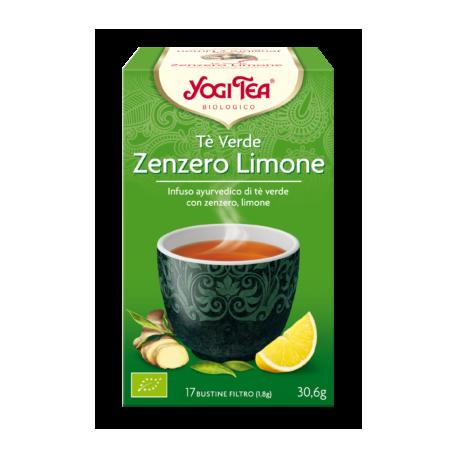 Tè Verde, Zenzero e Limone