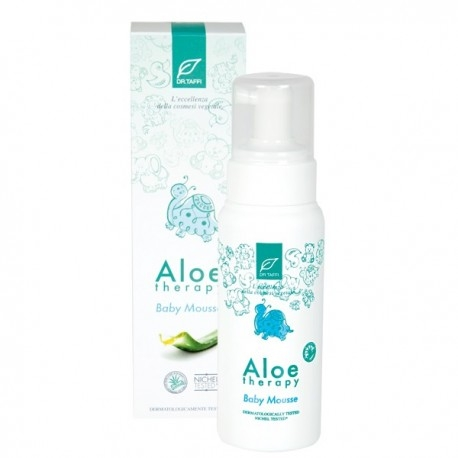 Mousse Detergente Linea Aloe Therapy Baby