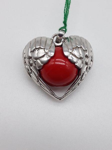 Ciondolo Donna ENGELSRUFER Chiama Angeli ali di Angelo che formano un cuore, vendita on line   GIOIELLERIA BRUNI Imperia