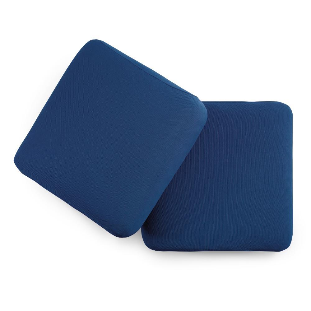 Copridivano 2 posti con 2 cuscini zucchi copri divano zapping blu - Copricuscini divano bassetti ...