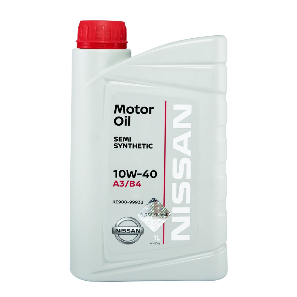 OLIO MOTORE NISSAN SEMI SYNTHETIC 10W-40 A3/B4 1L