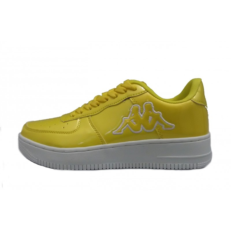 SNEAKERS KAPPA CASERTA FOOTWEAR YELLOW SHINY 3025WK0