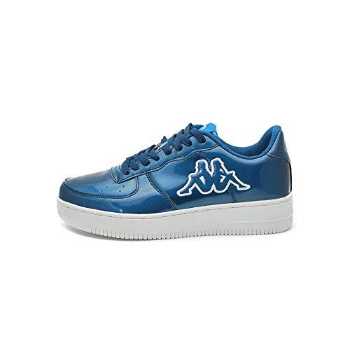SNEAKERS KAPPA CASERTA FOOTWEAR BLUE OTTANIO SHINY 3025WK0