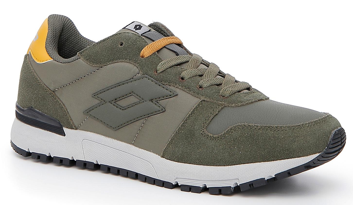 SNEAKERS LOTTO RUNNER T6491 VERDE MILITARE