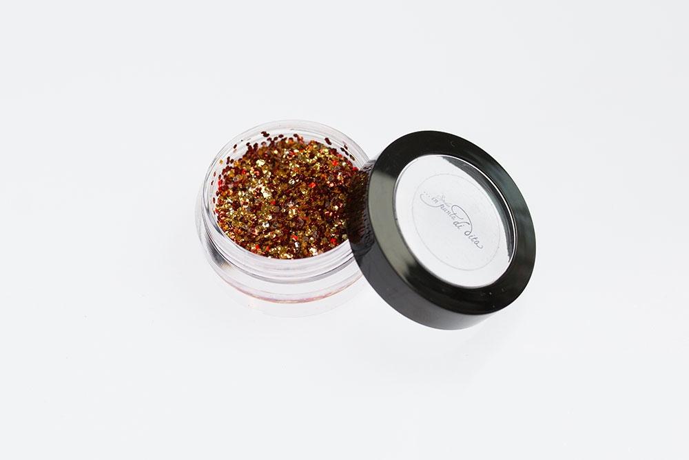 Paiettes mix bronzo