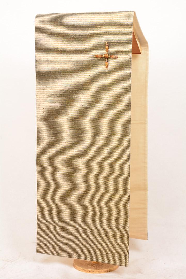Copri Ambone Croce Perle 504 MB - Bianco - 50 x 260 cm