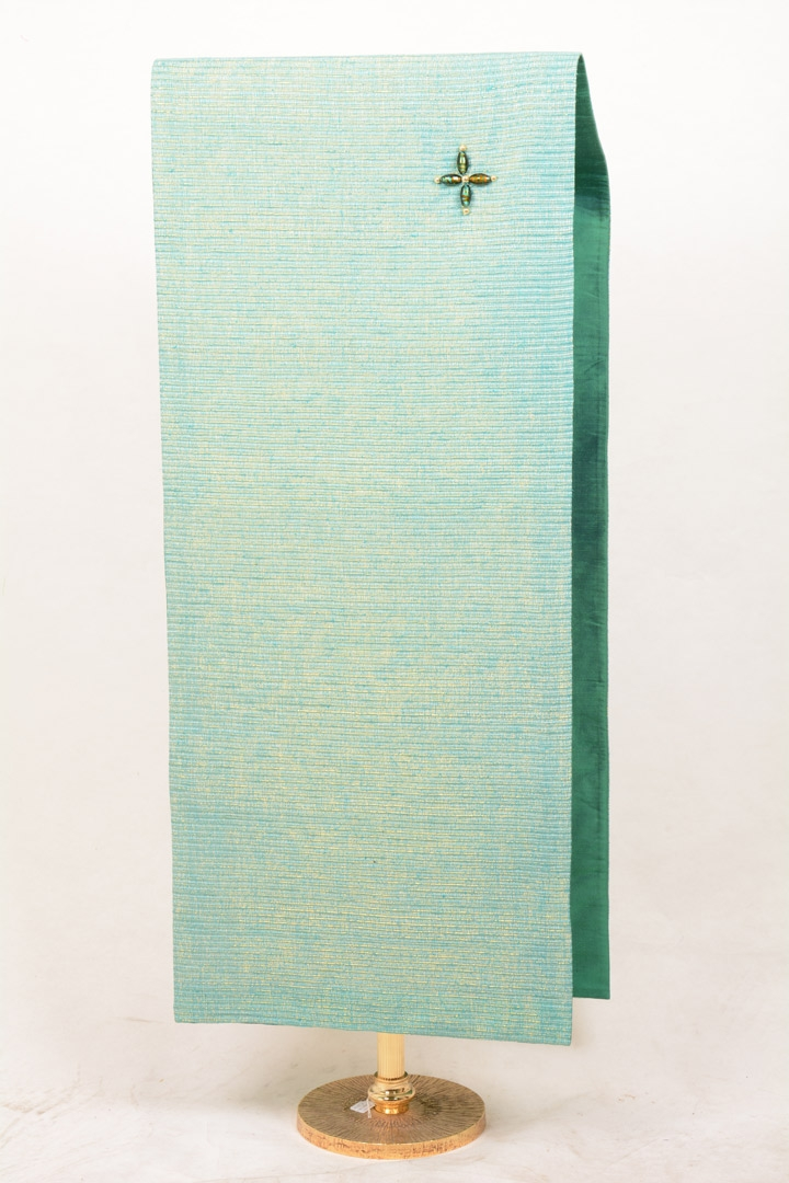 Copri Ambone Croce Perle 507 MB - Verde - 50 x 260 cm