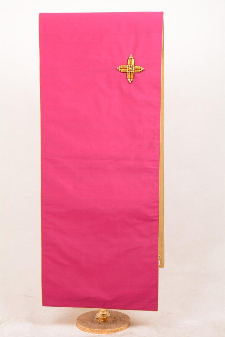 Copri Ambone Croce Perle 507 MB - Viola VA2 - 50 x 260 cm