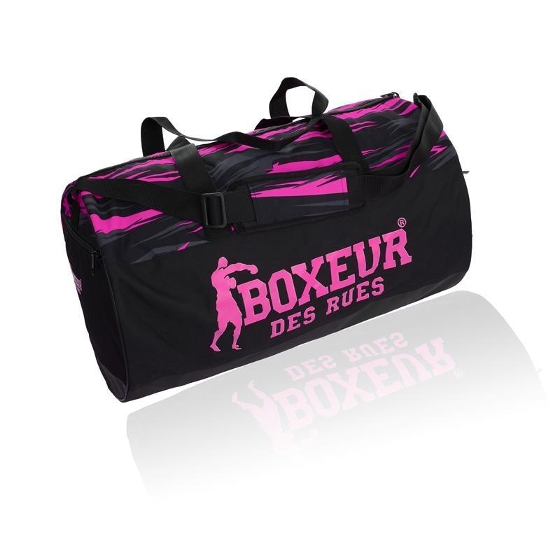 BORSONE BOXEUR DES RUES BXT-24 BAG BLACK/FUCHSIA