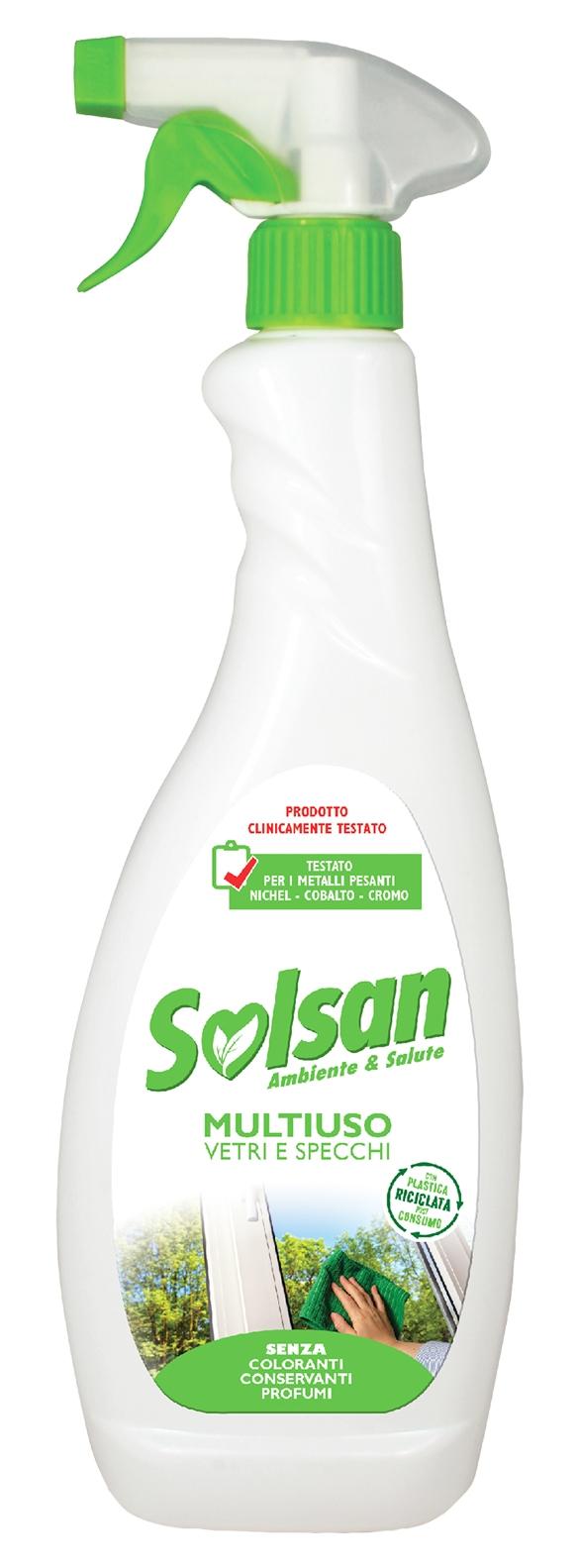 Detergente Multiuso Vetri e Specchi lt 0,75