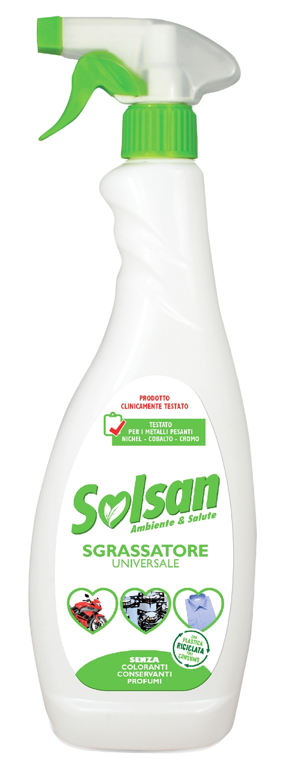 Sgrassatore universale lt 0,75 Solsan