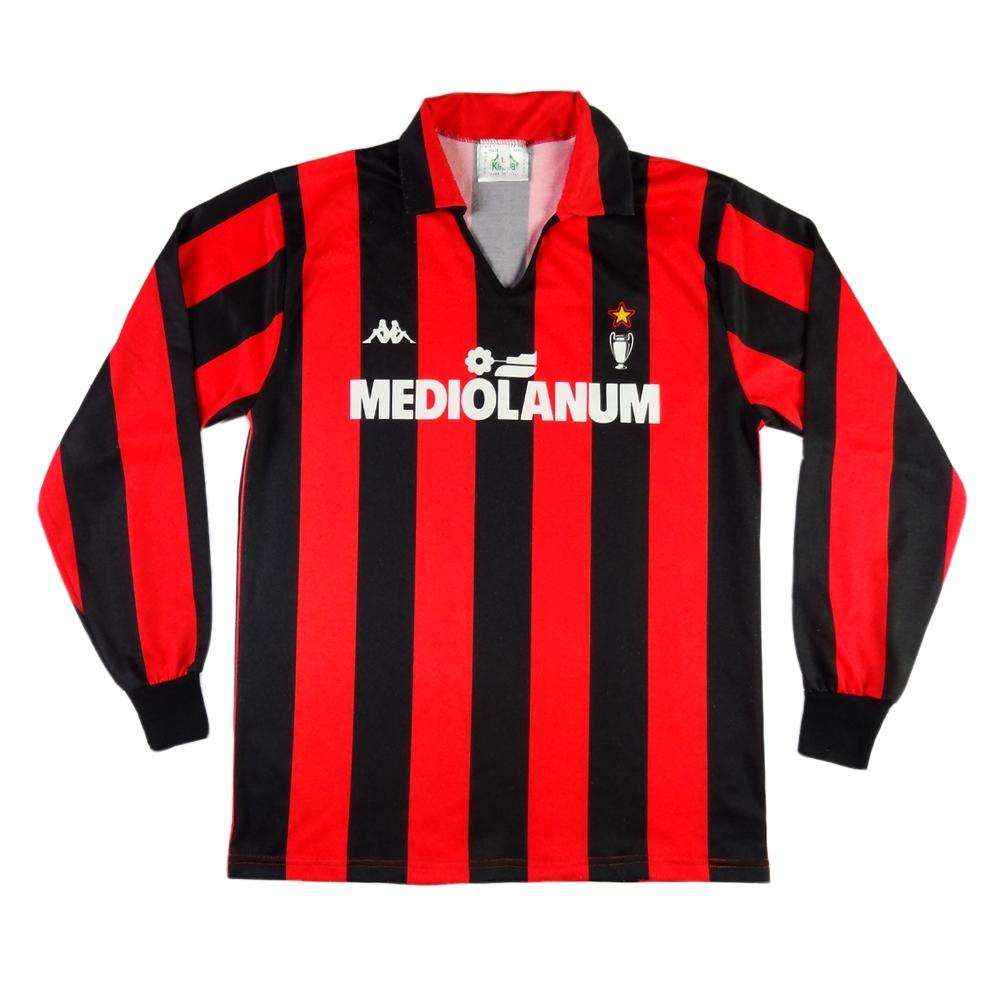 1989-90 AC Milan MAGLIA HOME L
