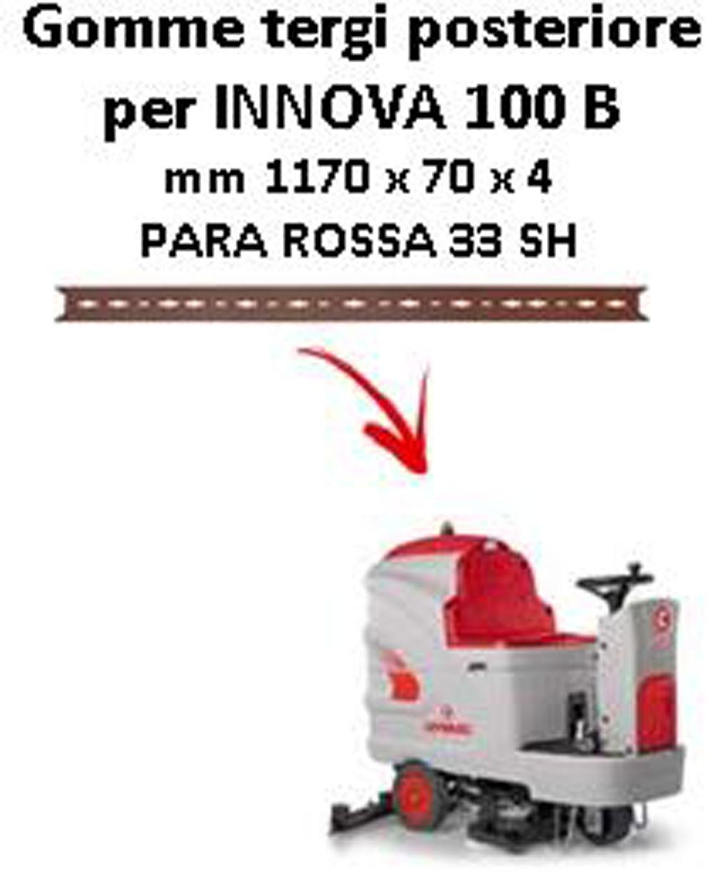INNOVA 100 B Hinten sauglippen für scheuersaugmaschinen COMAC