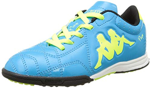 SCARPE CALCETTO KAPPA 4 SOCCER PLAYER TG KID  BLUE/YELLOW 302AHTO