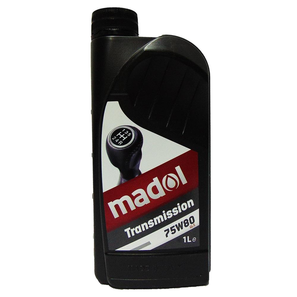 OLIO CAMBIO MADOL TRASMISSION 75W80 GL-5 1L