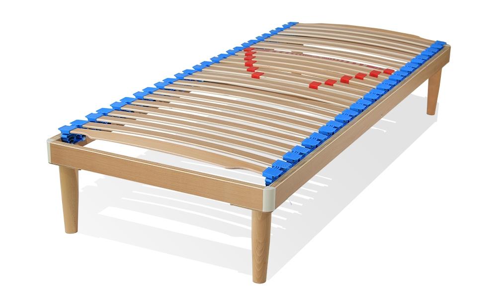 Azzurra - Rete singola o piazza e mezza a doghe in legno fisse e ...