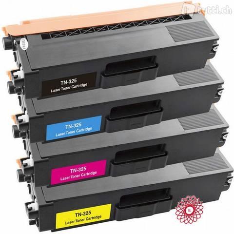 Toner Compatibile con Brother TN310 TN315 TN320 TN325 Yellow 3.5K
